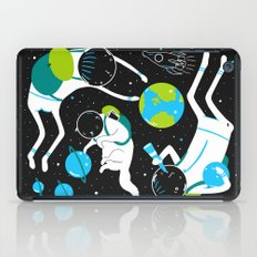 A Day Out In Space - Black iPad Case