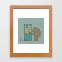 My Hero Framed Art Print