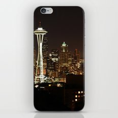 Simply Seattle iPhone & iPod Skin