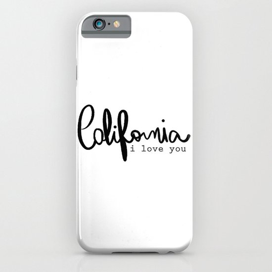 California i love you  iPhone & iPod Case