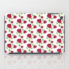 Ladybird pattern iPad Case