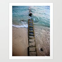 Hawaii's ~ The Ladder To… Art Print