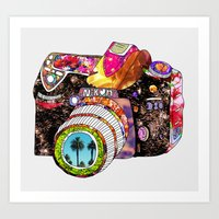 summer Art Prints featuring Picture This by Bianca Green