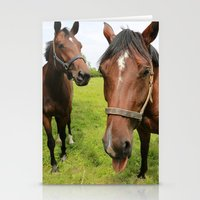 horses Stationery Cards featuring horses by Falko Follert Art-FF77