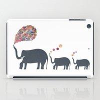 Elephant family iPad Case