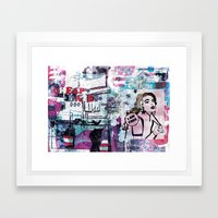 Cheap Date Framed Art Print