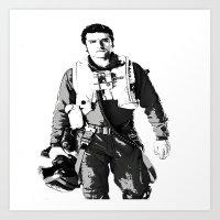 You Need A Pilot? Art Print