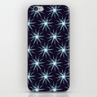 Christmas Card - Snowfla… iPhone & iPod Skin