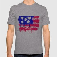 In God We Trust Mens Fitted Tee Athletic Grey SMALL