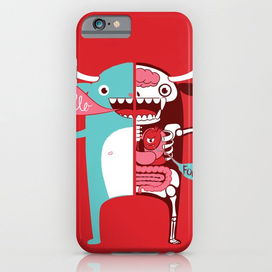 All monsters are the same! iPhone & iPod Case
