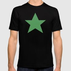 Star Mens Fitted Tee SMALL Black