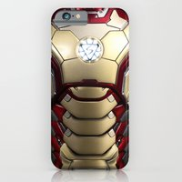 iPhone & iPod Case featuring iron/man mark XLII restyled for samsung s4 by Emiliano Morciano (Ateyo)