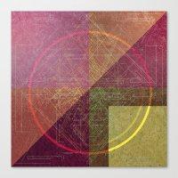 Orbital Compass Canvas Print