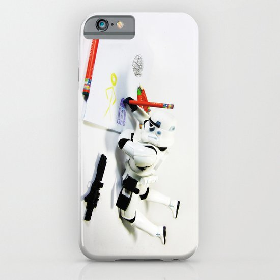 Drawing Droids iPhone & iPod Case