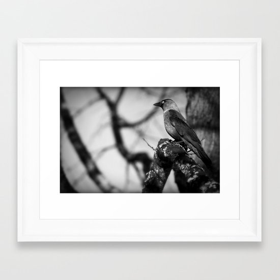 There you are! Framed Art Print