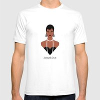 Josephine Mens Fitted Tee White SMALL