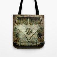 Classic VW  Micro Bus Wi… Tote Bag