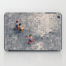 Monks in the city iPad Case