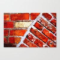 Tectonic Bricks Canvas Print