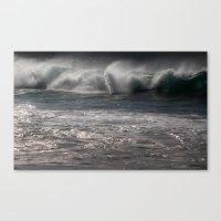 ocean energy Canvas Print
