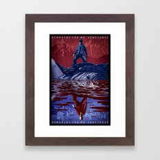 Sympathy for Mr. Vengeance [full color] Framed Art Print
