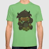 Monstrous Collab Mens Fitted Tee Grass SMALL