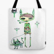 punk gree Tote Bag