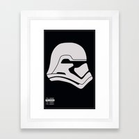 FN-2003 Stormtrooper profile Framed Art Print