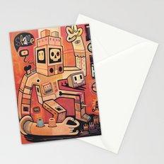Esclaves des robots... nous serons   Stationery Cards