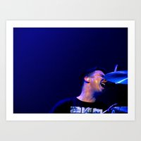 matt helders // arctic monkeys Art Print