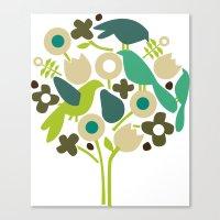 Birdy Num Num Canvas Print