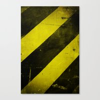 Warning II! Canvas Print