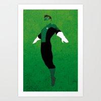 Kyle Rayner Art Print