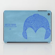 Mega Man Typography iPad Case