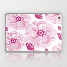 Twirly Rose Laptop & iPad Skin