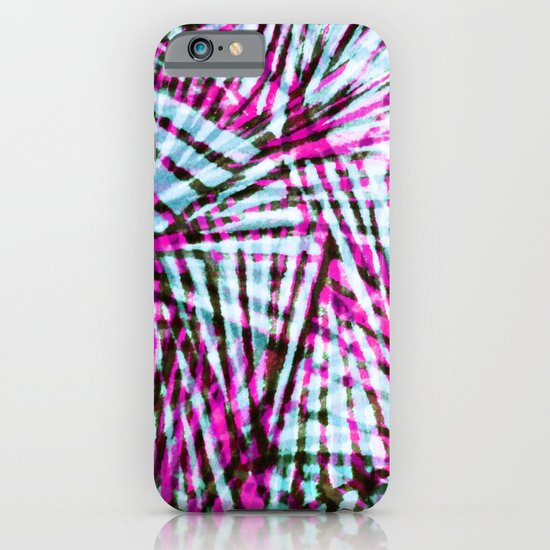 Pink Tiger Stripes iPhone & iPod Case