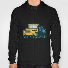 School Bus Vintage Retro Hoody