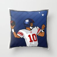 Eli - the SuperBowl MVP Throw Pillow