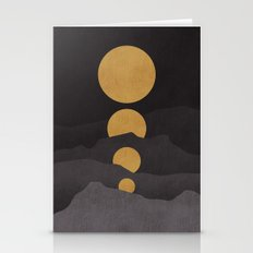 Rise Of The Golden Moon Stationery Cards