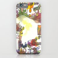 iPhone & iPod Case featuring Constraints Mini Series #3 by Teresa Cook