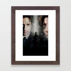 The X-Files Framed Art Print