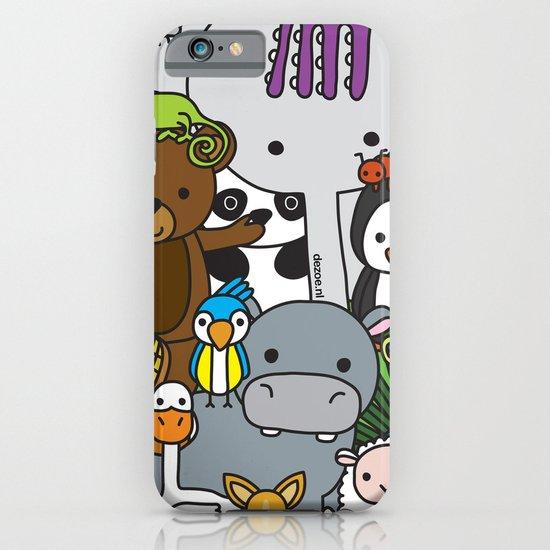 Zoe animals iPhone & iPod Case