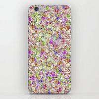 Roses Pattern iPhone & iPod Skin