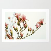 Portraits of Spring - III Art Print