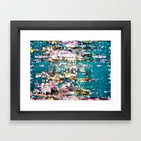 Somewhere Down the Crazy River Framed Art Print