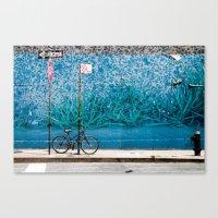 Grassy Wall Canvas Print