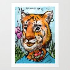 tigerB Art Print