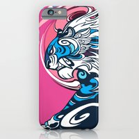 iPhone & iPod Case featuring Whirlwind Tiger by sandara