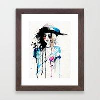 Friday Framed Art Print