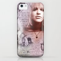 iPhone Cases featuring Courtney Zine Style Art by Design Parlour